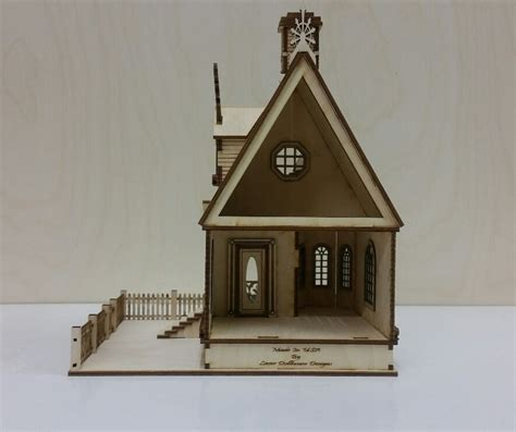 dollhouse 48 scale cottage dollhouse 1 48 scale