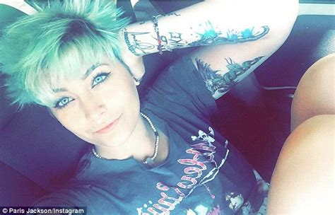 paris jackson gets her 23rd tattoo this time of the