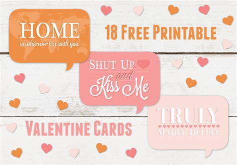 free printable valentine s cards a spoonful of sugar