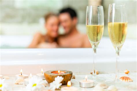 romantic bathroom sex create a romantic wedding night at home spa experience