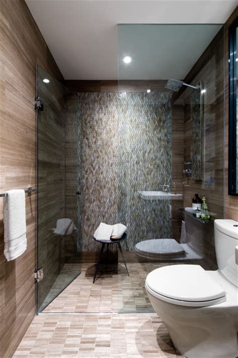 downtown toronto condo contemporary bathroom other