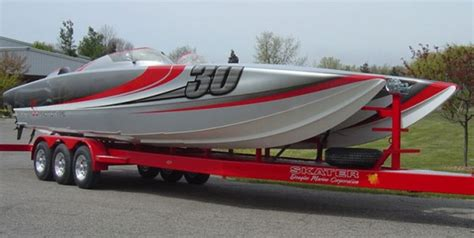 fast boat accident go fast boats at miami show part ii more new offerings