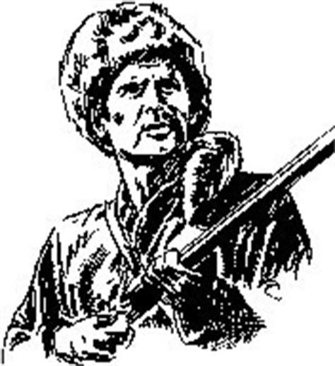 Davy Crockett Craze Home Page Davy Crockett Coloring Page