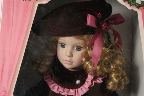 collection porcelain doll 76867 collection by ltd ed porcelain doll