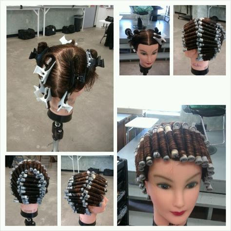 how to section hair double halo perm wrap begin with section the head into 8