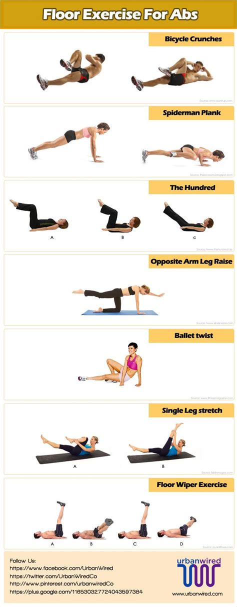 6 best floor exercises for abs workout abs workout for