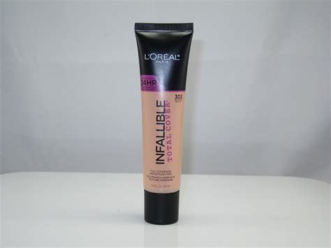 L Oreal Infallible Total Cover Foundation l oreal infallible total cover foundation review
