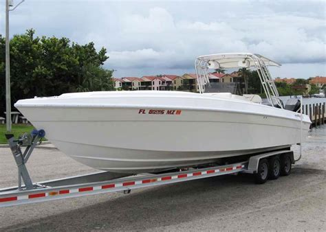 cigarette open fisherman boats for sale boat for sale 2004 powerplay 33 center console w merc