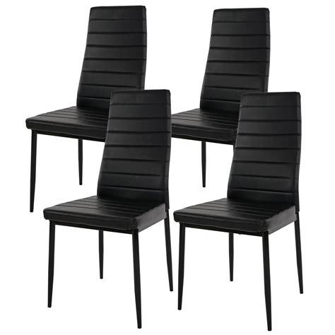 lote 4 sillas de comedor o cocina kiros gran acolchado