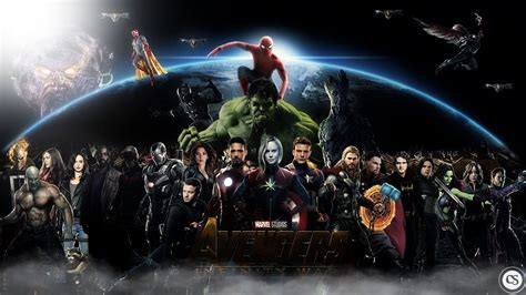 wallpaper hd avengers infinity war characters avengers