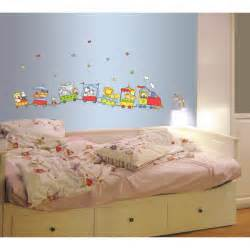 wall sticker kid room living nursery kids cute jungle wild animals lovely for