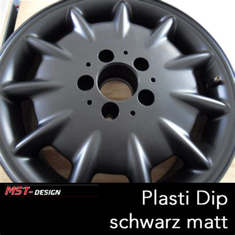plasti dip schwarz matt performix plasti dip 174 liquid rubber black mat 325 ml spray