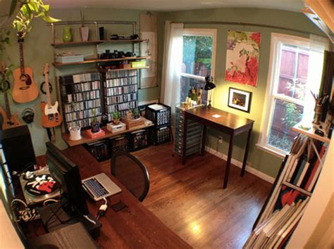 workspace of the week: all in one home office, music