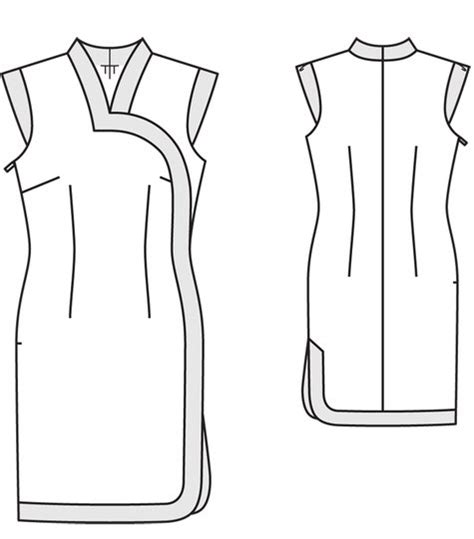 sewing pattern qipao cheongsam dress 02 2012 sewing projects burdastyle com
