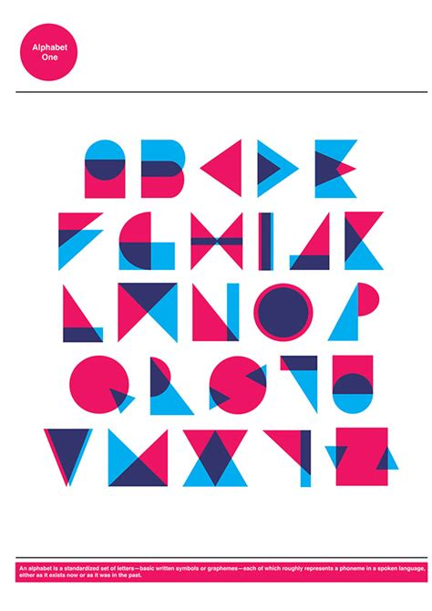 typography behance geometric typography on behance