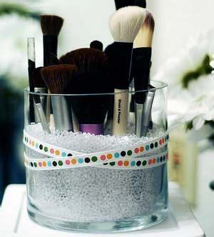 Vase Filler For Makeup Brushes by 17 Best Images About Bathroom Organization And