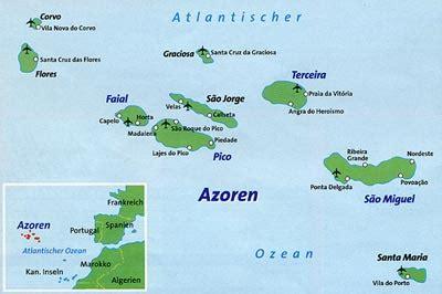 Flug Info Azoren