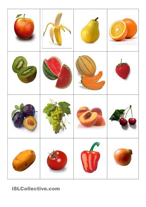Sticker Obst Und Gemüse obst und gem 195 188 se memory sachunterricht