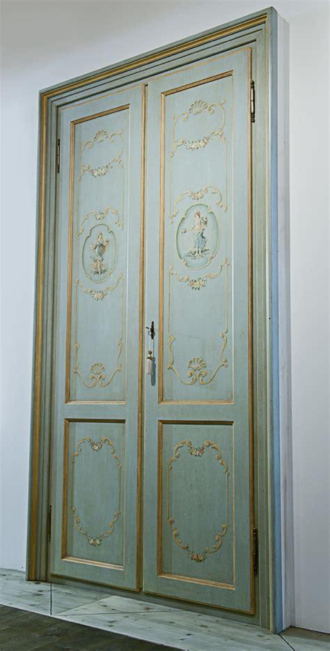 porta decorata porta decorata in stile veneziano falegnameria avoledo