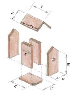 Wood free wooden bird houses plans pdf plans