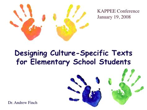 Designing Culture Specific Texts For Elementary School Elementary School Powerpoint Templates