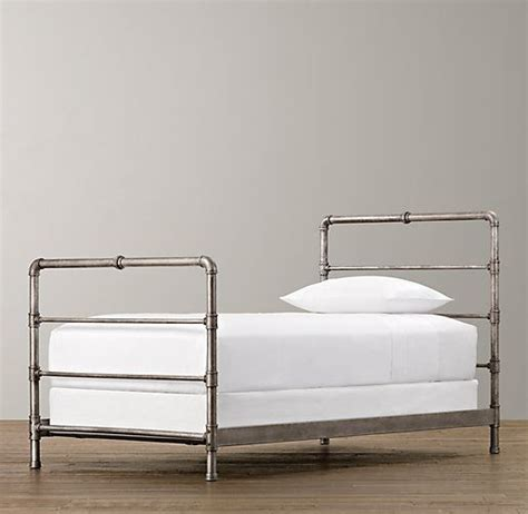 pipe bed frame top 25 ideas about pipe bed on pinterest industrial bed