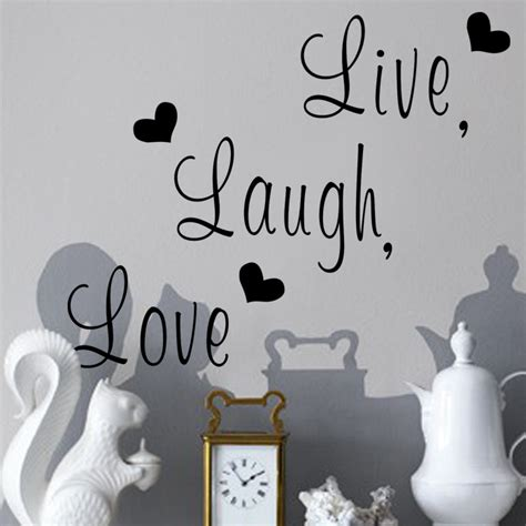 live laugh family creative wall decals zooyoo8176