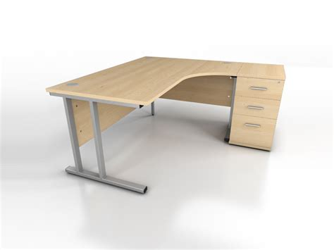 maple office desk maple corner desk icarus office furniture