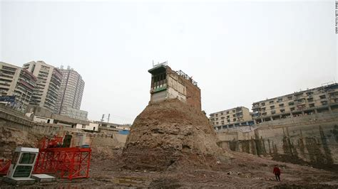 nail house china s nail houses the homeowners who refused to budge