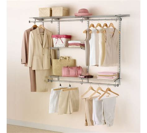 Custom Closet Kit by Design Your Own Closet With The Rubbermaid Configurations