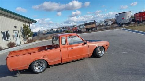 slammed datsun truck farmer joes 620 datsun pinterest farmers love and