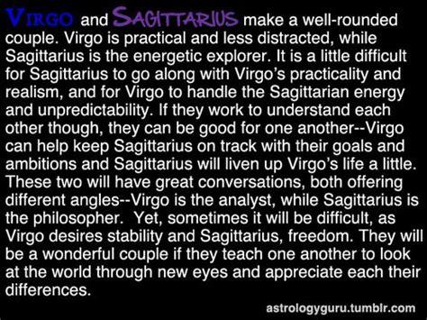 the astrology guru virgo compatibility with sagittarius