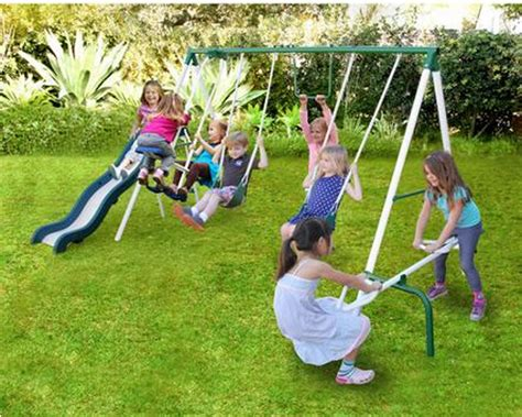 walmart kids swing set walmart outdoor swing set deals