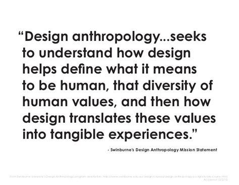 Design Anthropology Definition | reflexive design