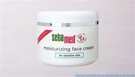 best sensitive skin moisturizer 10 best moisturizers for sensitive skin dlt