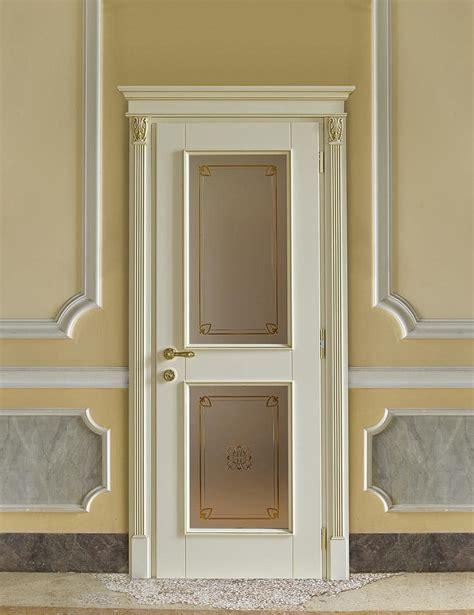 porte per alberghi porta con vetro in stile classico per alberghi di lusso