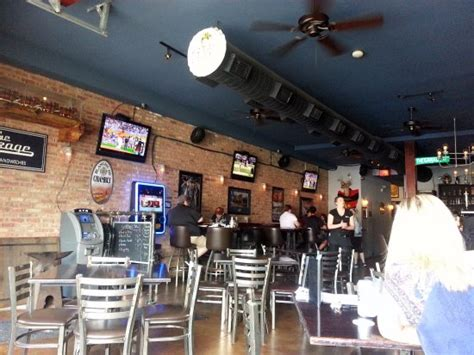 Garage Bar And Grill by Dining Area At The Garage Bar Grill Picture Of The