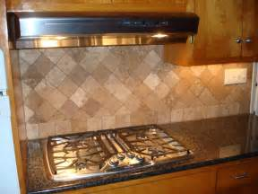 Kitchen Backsplash Travertine Tile Travertine New Jersey Custom Tile