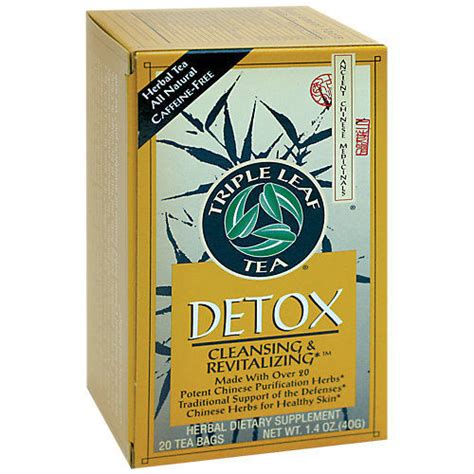 Does Tripple Detox Tea Work leaf teas detox tea 20 bag ebay