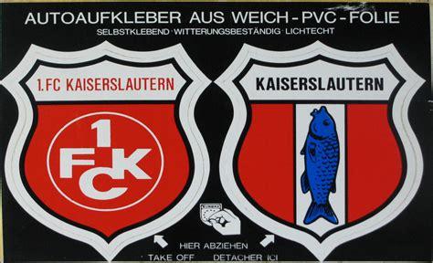 Autoaufkleber 1 Fc Kaiserslautern 1 fc kaiserslautern zvab