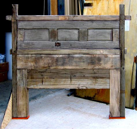 Reclaimed Wood Headboard King Reclaimed Wood Headboard King Ingeflinte