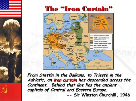 iron curtain sentence cold war in a global context