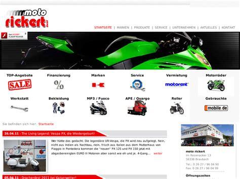 Aprilia H Ndler Nrw Motorrad by Moto Rickert Gmbh In Braubach Motorradh 228 Ndler