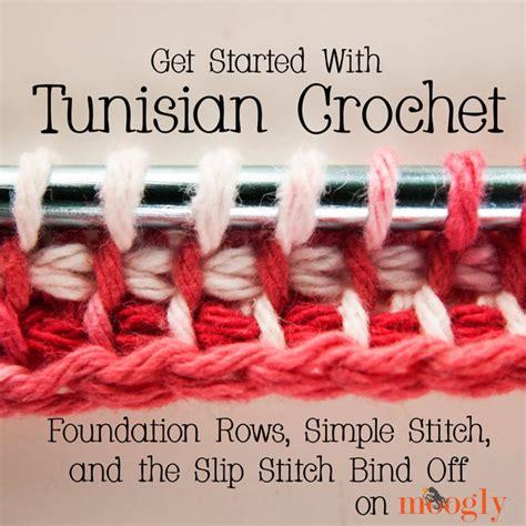 Video Tutorial Tunisian Crochet   get started with tunisian crochet video tutorial on moogly