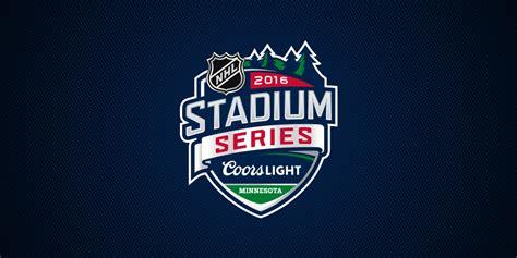 Coors Light Outdoor Series Nhl Unveils Minnesota S 2016 Stadium Series Logo Icethetics