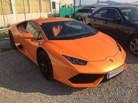 Cost Of Lamborghini Huracan by Austria Lamborghini Huracan Lp 610 4 Orange Rental Price