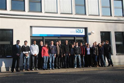 Iav Gmbh Ingenieurgesellschaft Auto Und Verkehr by R 252 Ckblicke Career Service Tu Chemnitz