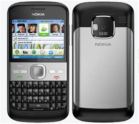 Hp Nokia Qwerty E6 new nokia e6 qwerty and touch reviews enfew