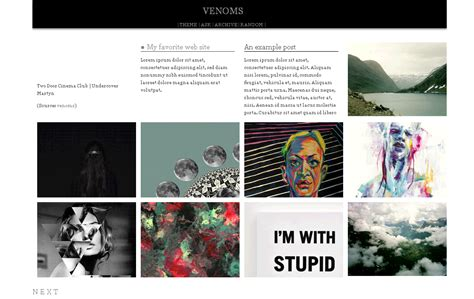 free themes for tumblr with infinite scroll venoms themes