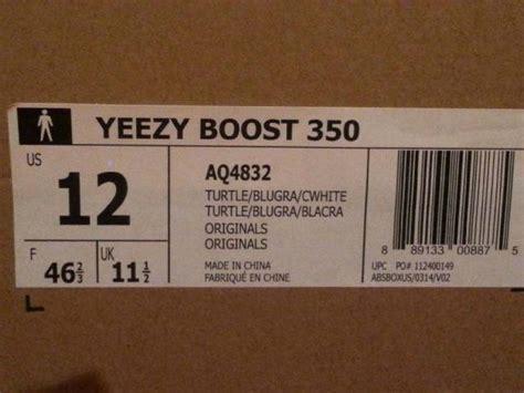 Harga Adidas Yeezy Turtle Dove adidas yeezy boost box